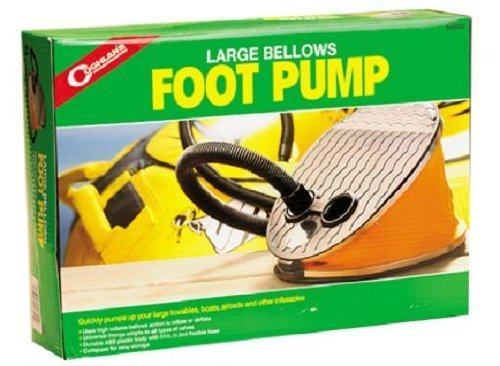 【期間限定特価】 Coghlan Pump 's Foot Large Bellows Foot Pump 's by Coghlan 's B018RQJE3C, 水谷商会:383f045f --- vezam.lt