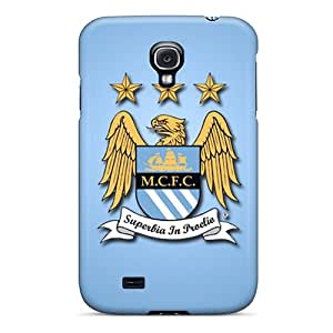 Fashionable Style Case Cover Skin For Galaxy S4- Manchester City Fc