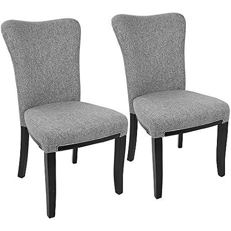 WOYBR DC OLVA E GY2 Polyester Fabric Wood Olivia Chair