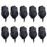 10pcs Baofeng VB-25 Dual-PTT Speaker Mic for Baofeng Two Way Radio GT-5/UV-82/UV-82L/UV-82HP/UV-8D Series (10)