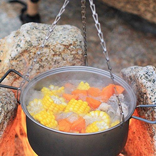 Keith Suppentopf 2,5 l Titan Ultraleicht Outdoor Camping Kochgeschirr Picknick Kochen