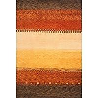 Momeni Desert Gabbeh Hand-Knotted Wool Rug (53 X 8)