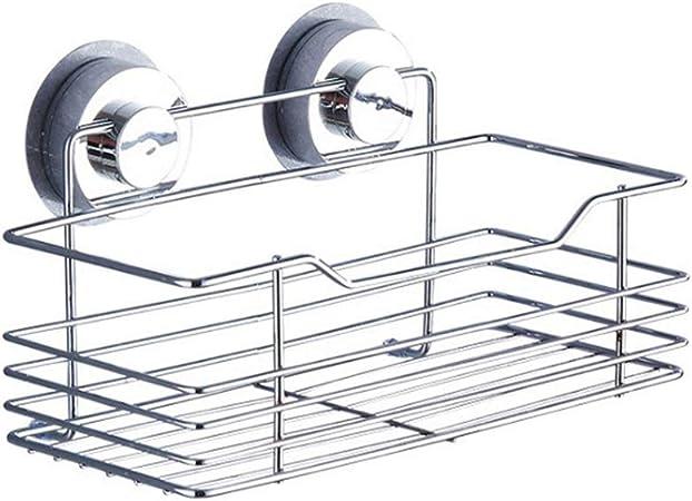 Depory Cesta Ventosa Estante Adhesivo Soporte Organizador Acero Inoxidable de Baño Ducha Cocina: Amazon.es: Hogar