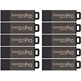 Centon DSP8GB10PK 10 x 8GB MultiPack DataStick Pro USB 2.0 Flash Drives (Grey)