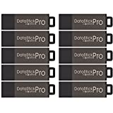 Centon DSP16GB10PK 16GB MultiPack DataStick Pro USB 2.0 Flash Drives (Grey), 10-pack