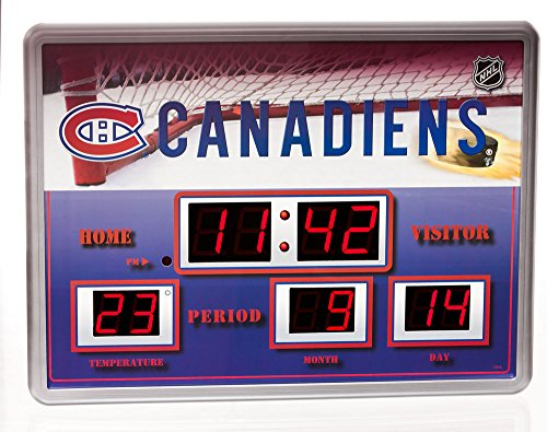 - Montreal Canadiens Scoreboard Wall Clock