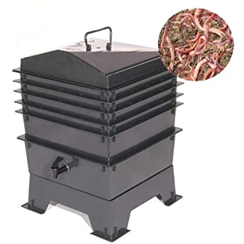 ZDYLM-Y Contenedor de Compost de lombrices, Sistema de ...