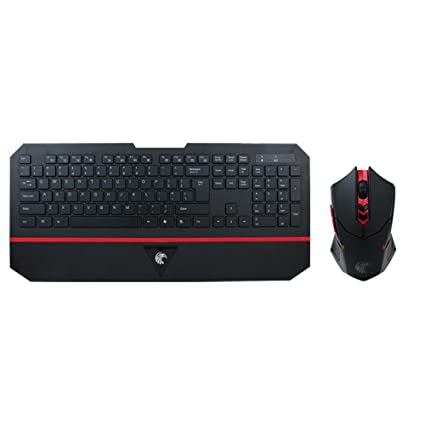 Ba Zha Hei de LED Gaming Wired 2.4G Keyboard and Mouse Set to Computer Multimedia