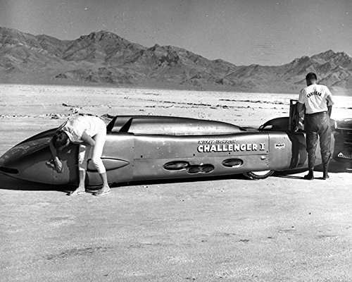 1961 Goodyear Mickey Thompson Challenger Bonneville LS Factory Photo