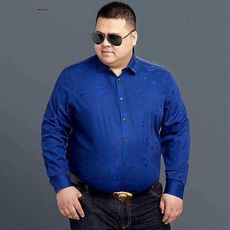 WYTX Camisas Camisa Estampada De Manga Larga para Hombre ...