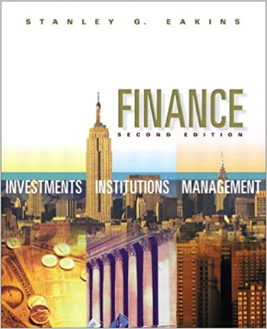Amazon finance investments institutions and management amazon finance investments institutions and management 2nd edition 9780201721669 stanley g eakins books fandeluxe Image collections