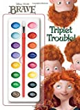 Triplet Trouble! (Disney/Pixar Brave) (Deluxe Paint Box Book) by RH Disney (2012-05-15)