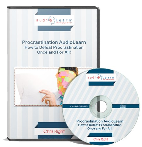 Procrastination AudioLearn : How to Defeat Procrastination Once and For All! (Complete Audiobook) PDF