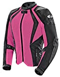 Joe Rocket Cleo Elite Women's Mesh Motorcycle Jacket (Pink, X-Large)