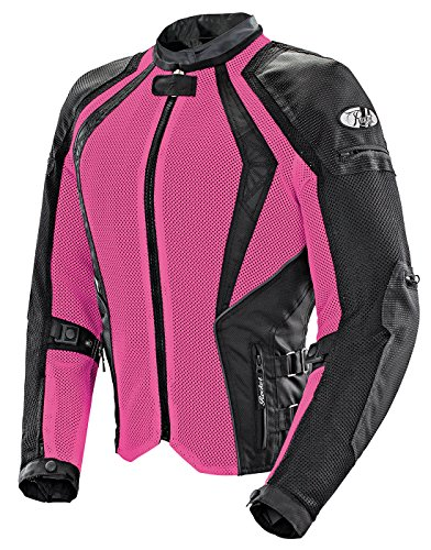 Joe Rocket Cleo Elite Women's Mesh Motorcycle Jacket (Pink, 1 Diva)
