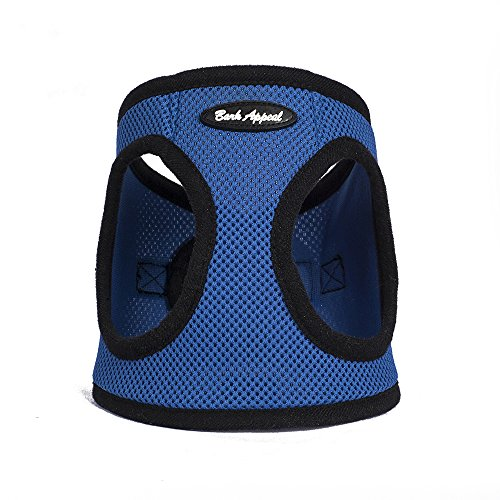 Bark Appeal Mesh Step in Harness, Small, Blue - Vest Bark