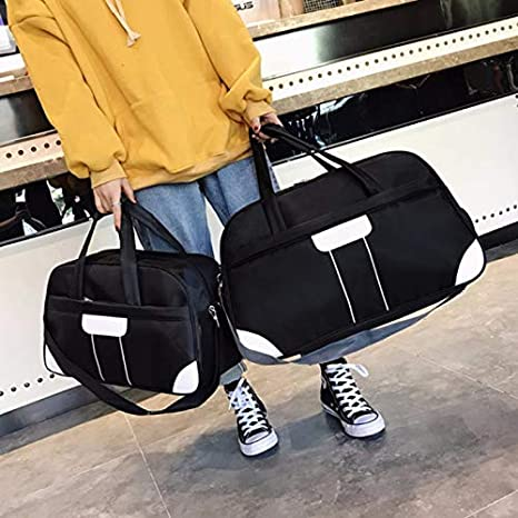 12c14cf01adc Image Unavailable. Image not available for. Color  CLHFJ Nylon Outdoor Women s  Sports Gym Yoga Luggage Bags Waterproof Travel Training Sport Bag ...