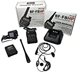 BaoFeng-BF-F8HP-UV-5R-3rd-Gen-8-Watt-Dual-Band-Two-Way-Radio-136-174MHz-VHF-400-520MHz-UHF-Includes-Full-Kit-with-Large-Battery