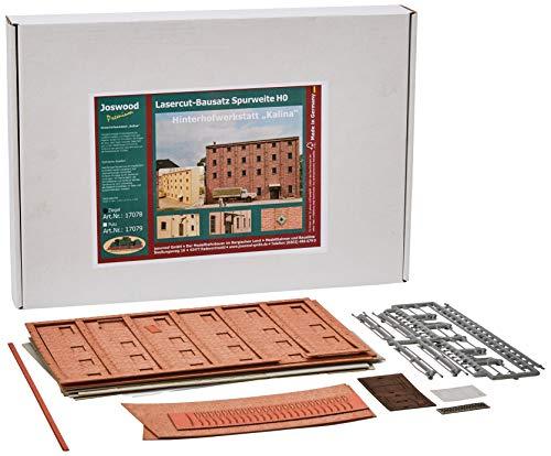 74 x 171 mm Laser Cut World Backyard 3D Brick Workshop Building Kit ()