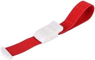 Ogquaton Tourniquet Rouge de secourisme de secouriste médical Rouge à libération Rapide et Rapide de Haute qualité
