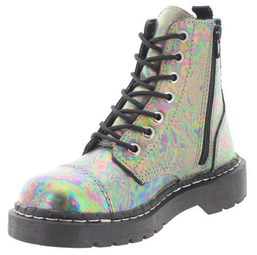 Combat coloured K multi U Womens Multicoloured Boots T 8wtAfTqx