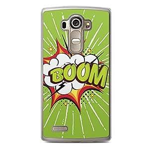 Boom LG G4 Transparent Edge Case - Comic Collection