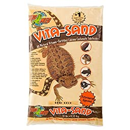 Zoo Med Vita Sand, 10 Pounds, Gold