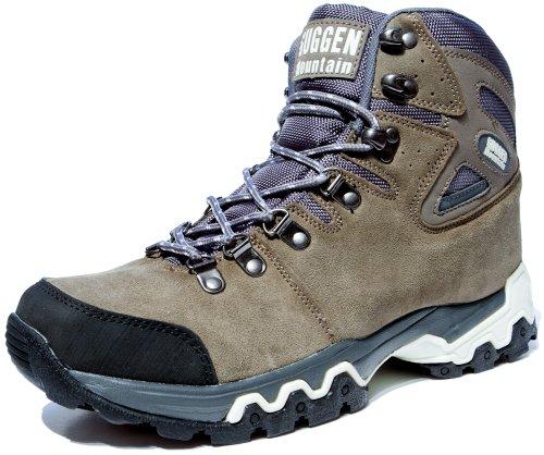 Chaussures De Randonnée Chaussures De Randonnée Chaussures De Montagne Chaussures Chaussure Sexe Neutre Unisexe Homme Et Femme Guggen Mountain M008, Brown, Eu 42