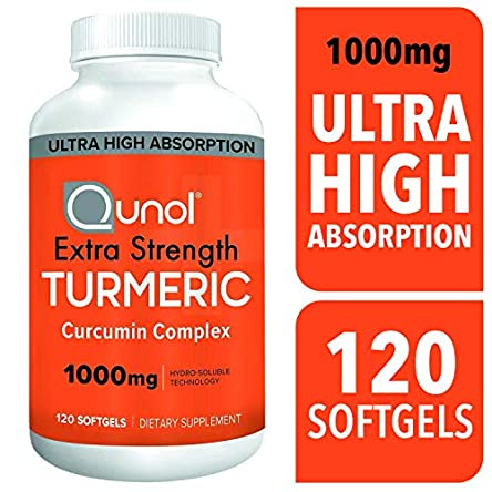 Turmeric Curcumin Softgels, Qunol with Ultra High Absorption...