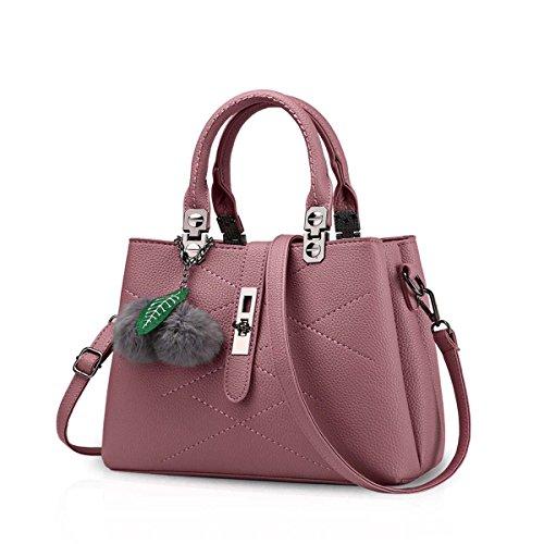 Gris femme marron amp;Doris Pochette gris pour Handbags Nicole Rouge Gris q0xwTAU