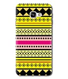 Print Vale Yellow and Black Rajasthani Design for Girls A New Arrivle Premium Quality Designer Printed Polycarbonate Matte Finish Hard Back Case Cover for Samsung Galaxy C9 Pro