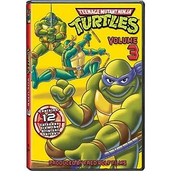 Amazon.com: Teenage Mutant Ninja Turtles: Seasom 3 DVD ...