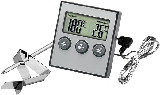 Hotloop - Termómetro y temporizador digital para horno y cocina ...