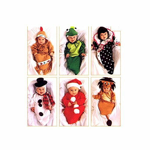 Infants Costumes McCalls 7936 Sewing Pattern Size S - M - (Snowman Costume Pattern)