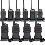 Retevis H-777S Walkie Talkie FRS Radio Rechargeable Security Two Way Radios(10 Pack)