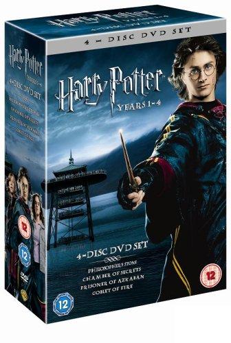 Harry Potter 1-4 Box Set [Reino Unido] [DVD]: Amazon.es: Harry ...