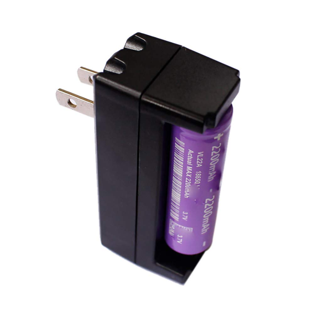 Amazon.com: MChoice❤️Charger for 18650 Battery Compatible ...