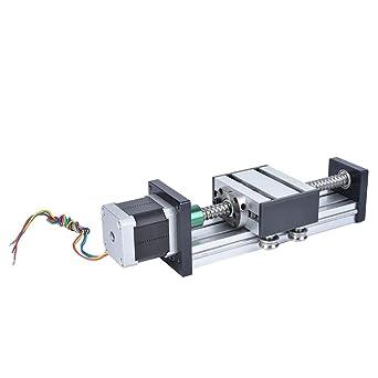 Actuador de guía lineal, rango de 200 mm CNC Guía lineal Carril de ...