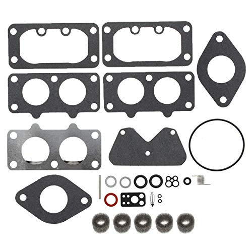 AUTOKAY Carburetor Overhaul Carb Rebuild Kit 406777 407777 405777 for Briggs /& Stratton 40H700 446700 442577 445777 446777 405777 407677 407677 44677A Vertical Engine Riding Lawn Mower