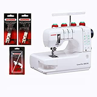 Janome 1000CPX Cover Pro w/Bonus Package!