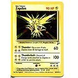 Pokemon Base Set 2 Holofoil Card #20/130 Zapdos