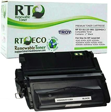 1 Pack Q5942A MICR Toner Cartridge for HP 4250 4350 4350n 4250n Printer HI-QTY!