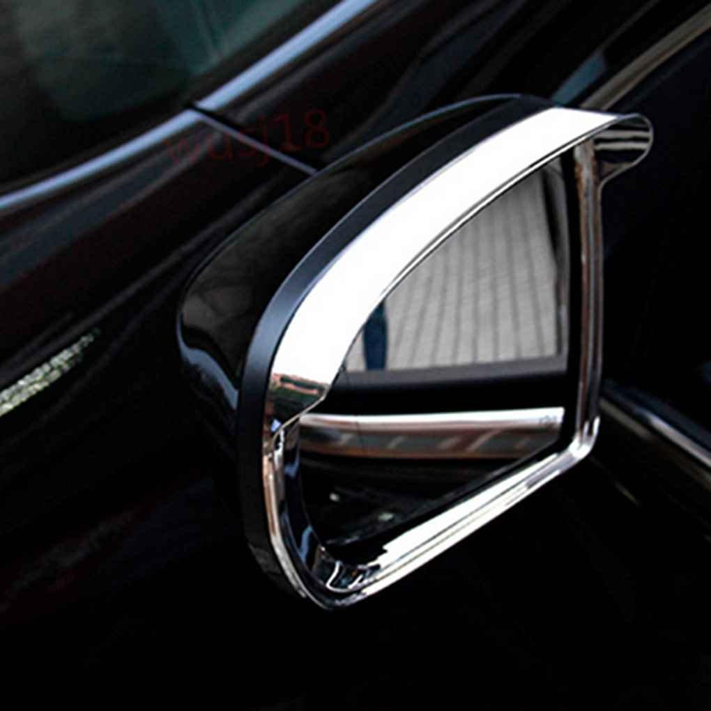 Ben-gi 1 par ABS Espejo del Cromo Recorte Cubierta de la Puerta Espejo retrovisor de protecci/ón contra la Lluvia de la Cubierta para Jeep Grand Cherokee 2011-2015