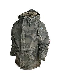 South play mens Outwear waterproof ski-snowboard Khaki wood Military Jacket
