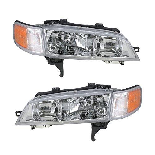 Headlights Headlamps Left & Right Pair Set for 94-97 Honda ()