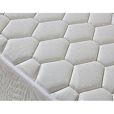 Signature Comfort Sleep 7-Inch Queen Mattress Soft Plush Queen Mattresses (Queen Size)