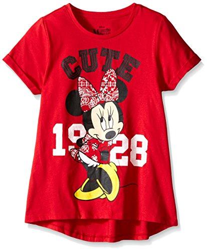 Disney Girls Minnie Rolled Sleeve
