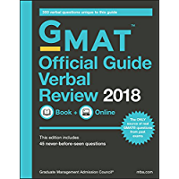GMAT Official Guide 2018 Verbal Review: Book + Online (Official Guide for Gmat Verbal Review) (English Edition)