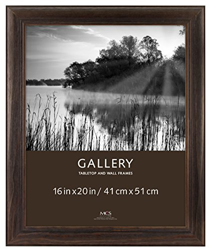 MCS 16x20 Inch Wide Wood Frame, Burnt Oak (47612)