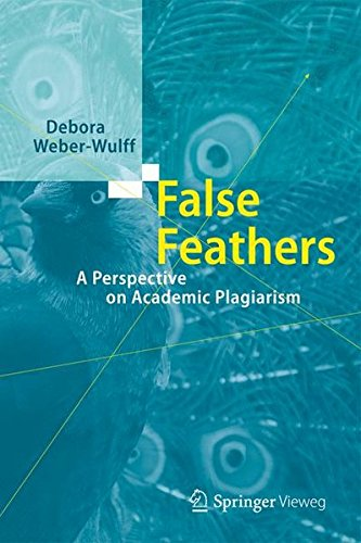 False Feathers: A Perspective on Academic Plagiarism by Springer